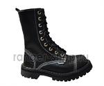 """Ботинки высокие Ranger """"Black One"""" 9 колец, размеры 34-48"""