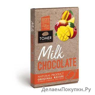 Шоколад молочный с Манго 90г.