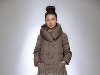 Женская куртка зимняя 023 капучино