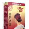 Хна для волос темно-красная Мун Стар, упаковка 6 шт, производитель Изук Импекс; Herbal Henna Moon Star Burgundy, 6 pcs, Izuk Impex