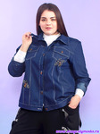 Джинсовая куртка Пчёлки Yaber