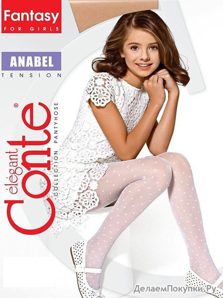 CONTE Колготки девочкам, Anabel, р-ры 128-146