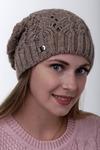 шапка 56-58 см Осенняя, однослойная Шерсть 50% - Акрил 50%