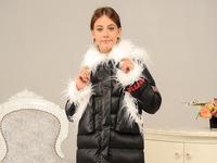 Зимняя куртка для девочки «Лаура» (размер 42-44)