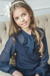 Блузка школьная, р-ры 128-158