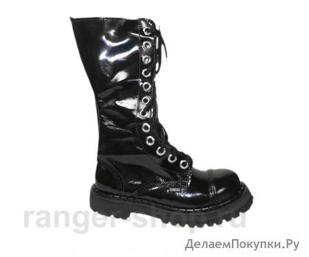 """Ботинки высокие Ranger """"Deep Black"""" 12 колец, размер 34-48"""