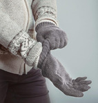 Перчатки из шерсти яка в ассортименте