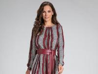 Платье AYZE Артикул: 11-87 бордо