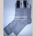 Юстатекс носки мужские серые арт: 1С12.Упаковка 10 пар