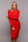 Платье Rose красный