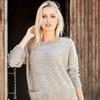 Объёмный свитер, размеры 44-48