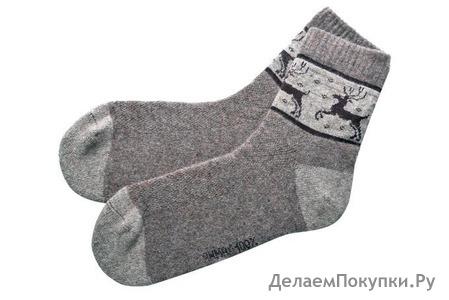 Носки из 100% шерсти яка в ассортименте (взрослые)