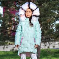 """Зимняя куртка для девочки """"ZKD-14"""""""