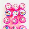 Детский набор для девочек: бусы, браслет и клипсы в баночке
