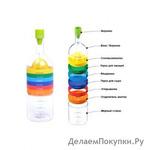 Бутылка 8 в 1 (bin 8 tools)