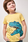 Футболка(Фуфайка) детская для мальчиков Nikel желтый [20120110274#0]