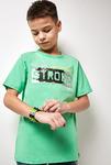 Футболка(Фуфайка) детская для мальчиков Tori зеленый [20110110278#0]