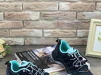 Женские кроссовки 019-6 черные