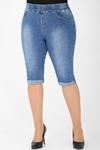1У-54 7396 Капри джинсовые