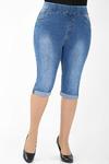 М-12 6592 Капри джинсовые