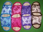 Тапки женские №С820-13 кленовый листок