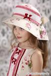 """Шляпа для девочки """"Розочки"""""""