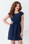 Распродажа Платье с декоративной складкой по всей длине