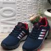 Мужские кроссовки 9150-5 сине-красные