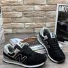 Мужские кроссовки А887-10 черные
