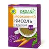 """Кисель с фруктозой овсяно-льняной """"Морковный"""" 150 гр"""