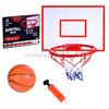 Баскетбольный набор, щит, кольцо, сетка, мяч, насос, в коробке