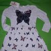 Платье БАБОЧКА, Турция,  размеры 92-98, 104-110, 110-116