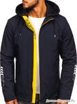 Куртка мужская переходная синяя Denley 5985