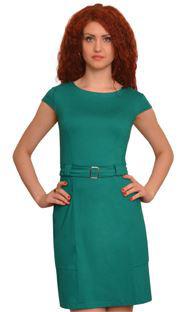 1378 Платье Ярко-зеленый