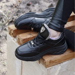 Женские кожаные кроссовки (мягкий текстиль/экомех - на выбор)