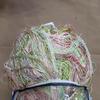 Кисея радуга многоцветный брусника/зеленый/салатовый/голубой 300х300 см