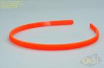 Тонкий ободок из каучука ярко-оранжевого цвета ,ширина 0,7 см.
