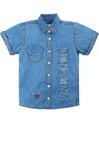 Джинсовая рубашка для мальчика Bonito Артикул: BK637DJ