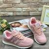 Женские кроссовки 886-18 нежно-розовые