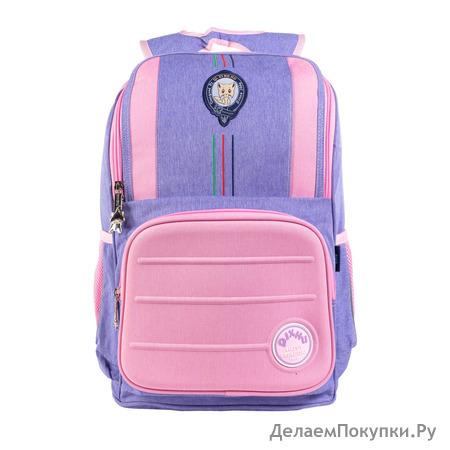 Школьный рюкзак QXA-135A Розовый/Фиолетовый