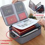 OB-307 Портативная сумка - портфель для  различных документов, бумаг и гаджетов.