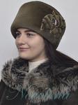 шапочка Снежана(эко мех)