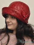 шляпа Лилия,текстиль