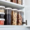 ИКЕА/365+ Контейнер+крышка д/сухих продуктов, прозрачный, белый1.3 л