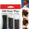 Набор шпилек для волос (100 шт.) арт. 909941