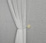 Тюль канвас турецкий Кази 3м Артикул: 91/18152-1 белый Ширина рулона: 300