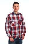 """Мужская рубашка шотландка - длинный рукав """"Классик"""""""""""