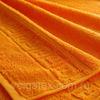 Полотенце махровое 100% Хлопок, Плотность 430 г/м.кв. оранжевое