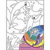Холст с красками 18х24 см по номерам. ВЕСЁЛЫЕ ДЕЛЬФИНЫ (Арт. Х-1648)