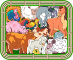 Зоопазл «Переполох на ферме»